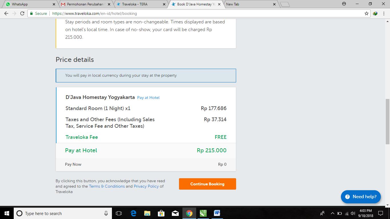 Booking Homestay Di Jogja